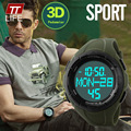 TTLIFE Luxury Brand Men Sports Watches Digital LED Quartz Wristwatches Pedometer 3D Calories Military Watch relogio masculino