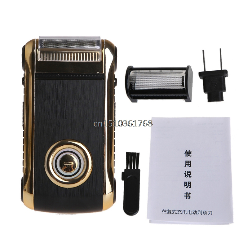 Men's Deluxe Pro Rechargeable Cordless Electric Shaver Razor Built-in Mirror #Y05# #C05# цены