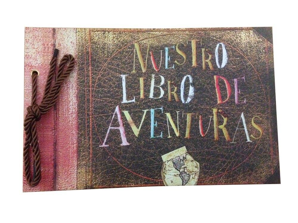 Nuestro либро де-авентурас/наше приключение книги, DIY Фотоальбом, свадьба Скрапбукинг, 80 страниц и Pixar до тематические подарки ...