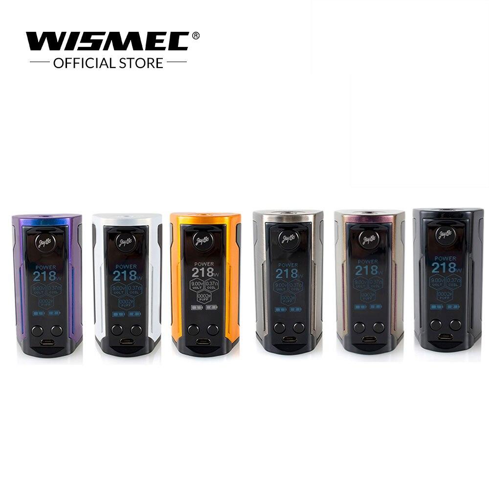 Original Wismec Reuleaux RX GEN3 Dupla Caixa de Saída 230 W cigarro Eletrônico Mod vape mod por dupla 18650 bateria vs rx gen3 mod