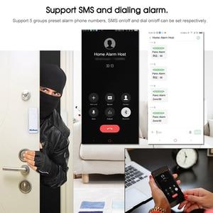 Image 4 - Marlboze WIFI GSM GPRS Alarm system APP Fernbedienung RFID karte Arm Entwaffnen mit farbe bildschirm SOS taste Sprachen umschaltbar