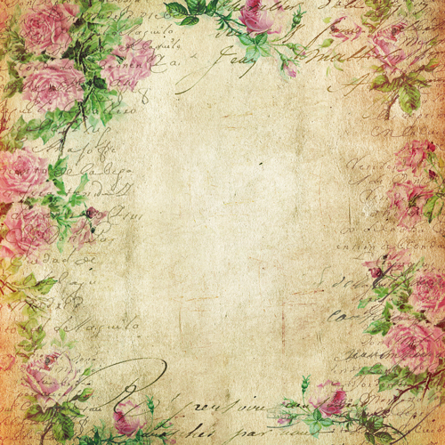 vintage parchment pattern photography backdrops for kids   Art fabric photo backgrounds for studio D-9544