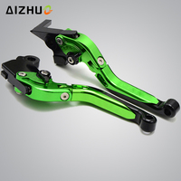 FOR KAWASAKI ZRX1100 ZRX1200 1999 2007 Motorcycle Accessories Brake Clutch Lever Adjustable Folding Extendable ZXR 1100 ZXR 1200