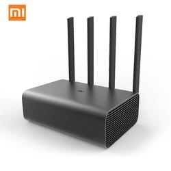 Оригинальный Xiaomi Mi беспроводной маршрутизатор Wi-Fi Pro Repeater 1733 Мбит/с двойной ПЗУ 256 2,4G & 5G Flash с 4 антеннами усилитель сигнала сети