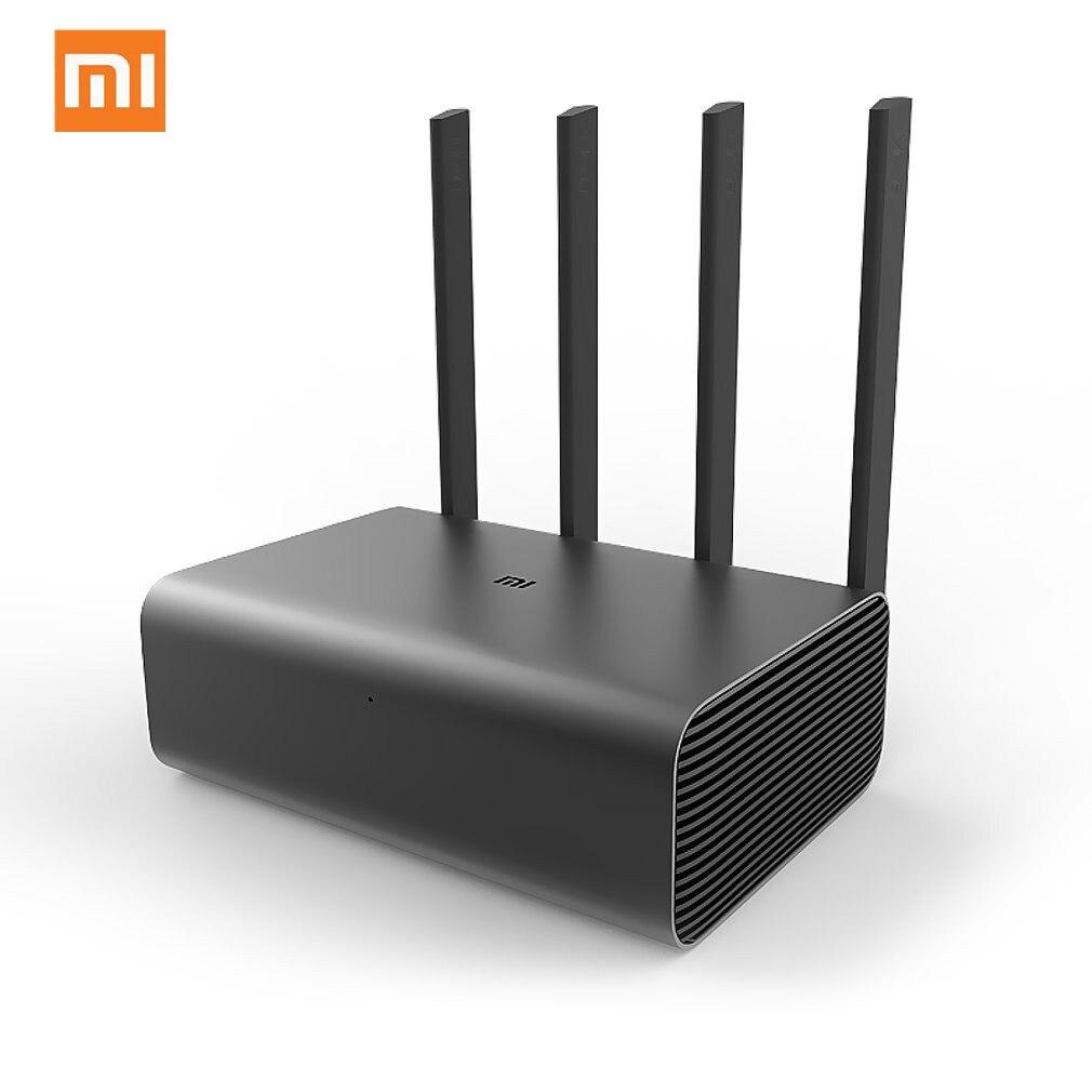 Оригинальный Xiaomi Mi беспроводной маршрутизатор Wi Fi Pro Repeater 1733 Мбит/с двойной ПЗУ 256 2,4G & 5G Flash с 4 антеннами усилитель сигнала сети
