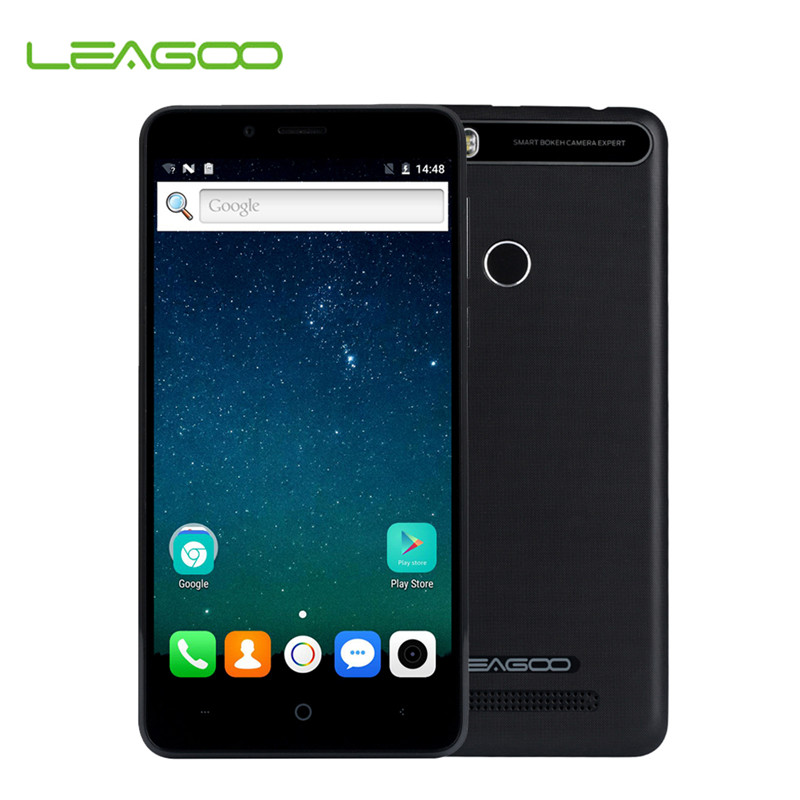 Original LEAGOO KIICAA POWER Android 7.0 Dual Camera 4000mAh 5.0 Inch MT6580A Quad Core 2GB RAM 16GB ROM Fingerprint Phone