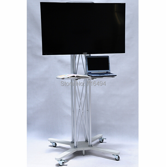 Exhibition Stand Tv : Tradeshow tv stands exhibition display quot to plasma