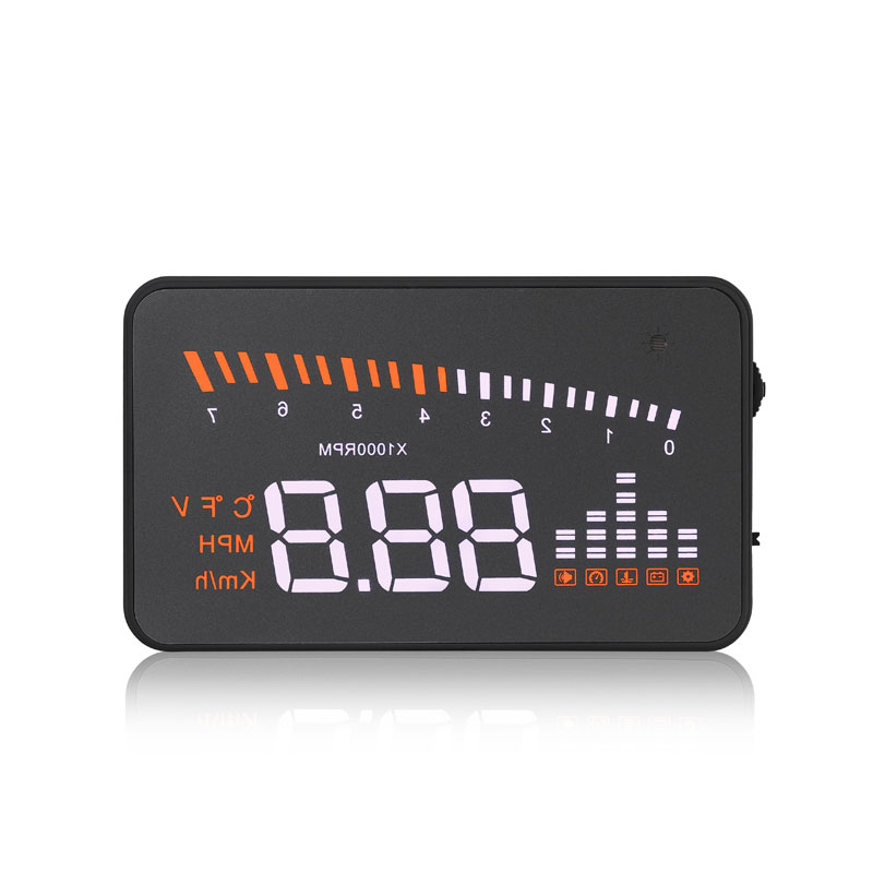 все цены на Original X5 HUD Head Up Display Car HUD Head Up Display Car Styling Speed Alarm OBD II Head-up Display OBD2 Interface Promotion онлайн