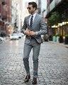 (Куртка + Брюки) Последнее Пальто Брюки Проектирует Жених Свадебный Костюм Homecoming Костюмы Смокинги Для Мужчин Blazer Masculino