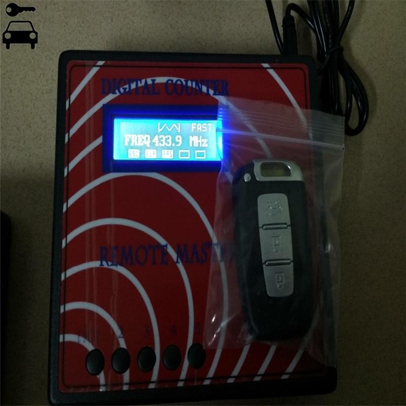 Compteur numérique À Distance Maître Garager Porte Key Programmer À Distance Clé Fréquence Mètre Fixe Roulant Copieur RF À Distance Contrôleur