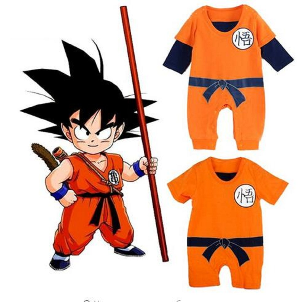 Dragon Ball Baby Rompers Newborn Baby Boys Clothes Son