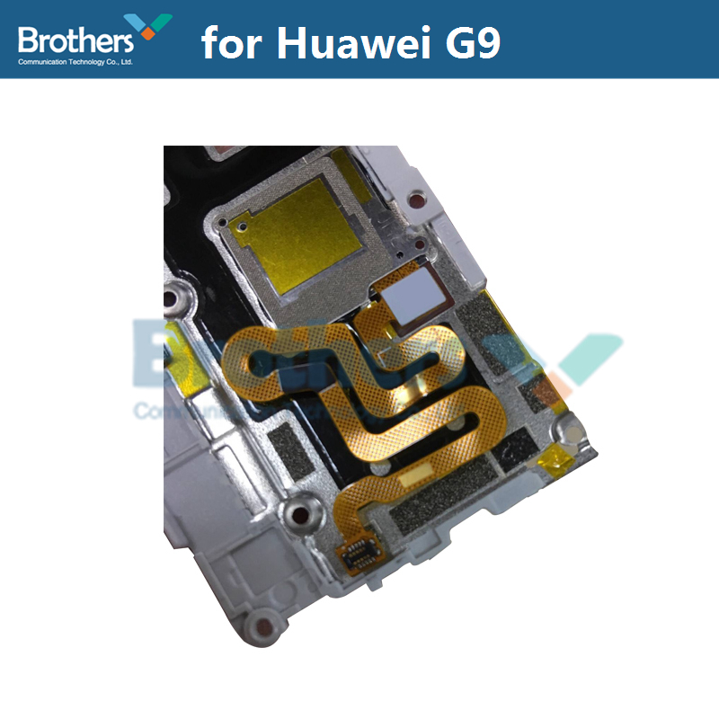 Fingerprint Sensor Plate For Huawei G9 Scanner Flex Cable Camera Lens Frame Holder For Huawei G9 Phone Replacement High Quality (2)