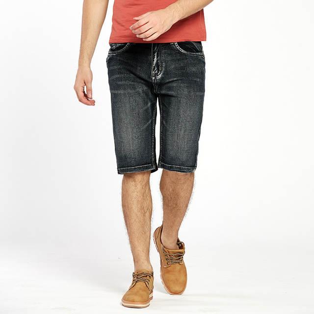 476aefb123c1 Online Shop Drizzte Brand Mens Lightweight Denim Jeans Shorts Plus Size  Jeans Short for Men Pants Summer 34 35 36 38 40 42   Aliexpress Mobile