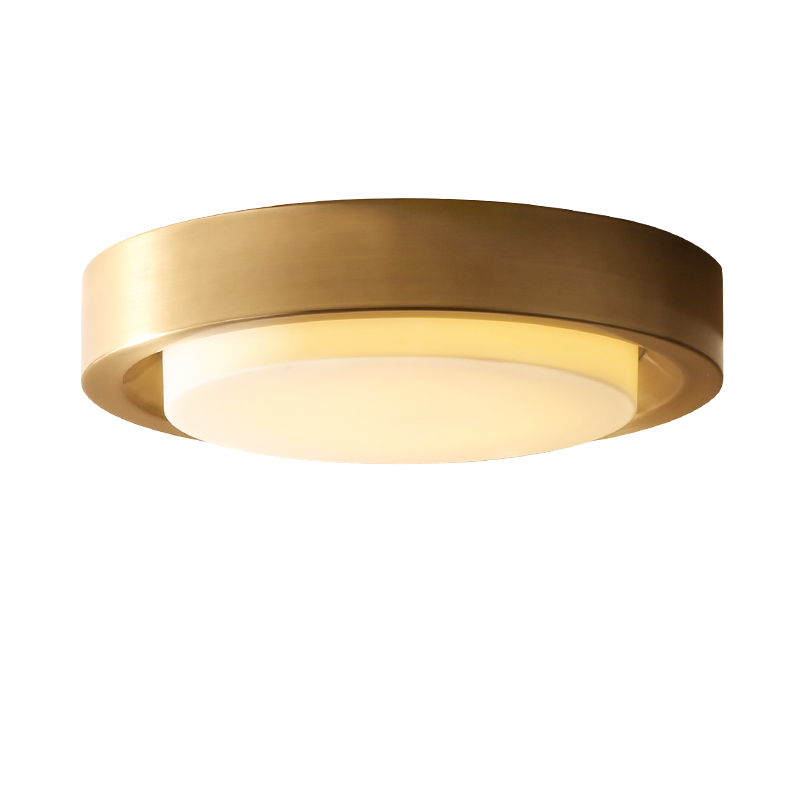 Groovy Us 201 55 20 Off Nordic All Copper Gold Ceiling Lights American Style Lighting Fixture For Home Store Luxury Foyer Decoration Led Ceiling Lamps In Home Interior And Landscaping Ponolsignezvosmurscom