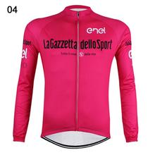 New Men's Cycling Jersey Pro Team 2016 Long Sleeve Bike Shirt Bicycle Clothing Wear Breathable outdoor Sports shirt Clothes