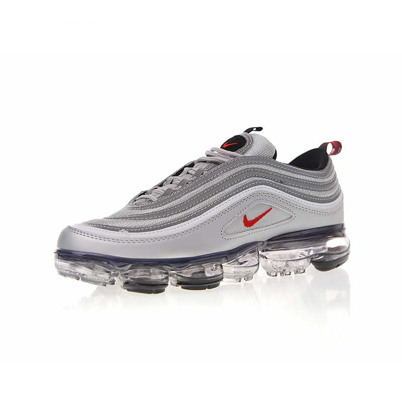 hot sales 93659 81ec6 Original Authentic Nike Air VaporMax 97 Mens Breathable Running Shoes Sport  Sneakers Comfortable Designer 2018 New Arrival AJ729