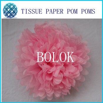 "50pcs 14""(35CM)Paper Pom Poms"