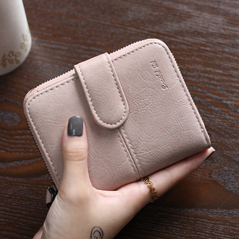 2017 Fashion Women Faux Suede Leather Coin Purse Bag Small Purses Mini Wallet Zipper Hasp Lady Short Wallets Card Holder P518 fashion women coin purses dots design mini girl wallet triple zipper clutch bag card case small lady bags phone pouch purse new