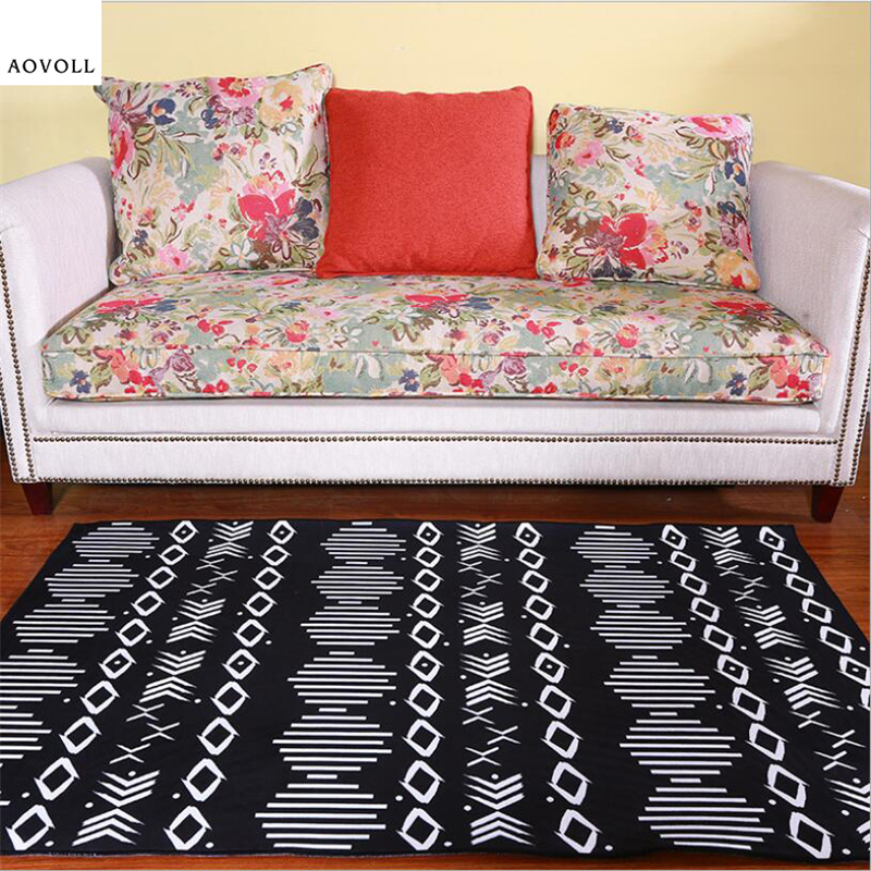 AOVOLL Japanese Style Simple Soft Carpets For Living Room Bedroom Kid Room Rugs Home Carpet Floor Door Mat Delicate Area Rug