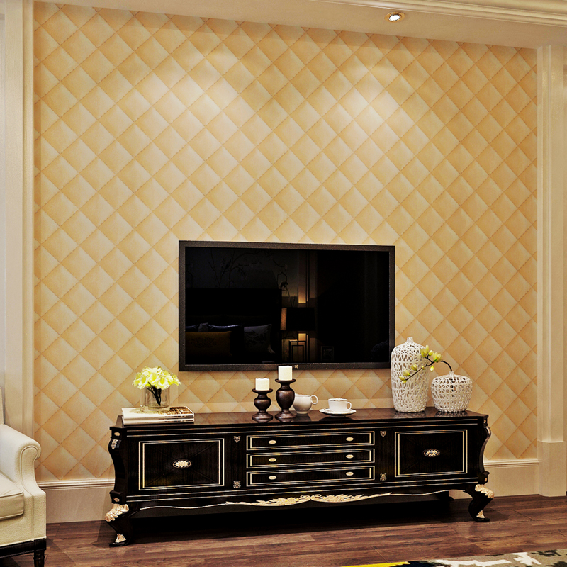 ФОТО Modern  3D Embossed PVC Wallpaper for walls living room home decor improvement papel de parede QZ0422