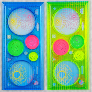 Spirograph Geometric Ruler Drafting Tools Stationery For Students Drawing Toys Set Learning Art Sets Creative Gift Children
