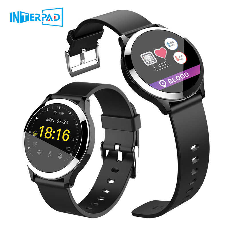 High Tech ECG PPG Smart Watch With Blood Pressure Heart Rate Monitor IP67 Waterproof Smartwatch Wristwatch