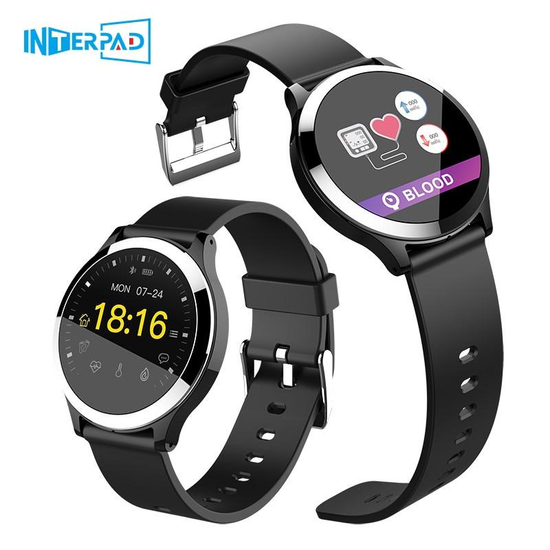 High Tech ECG PPG Smart Watch With Blood Pressure Heart Rate Monitor IP67 Waterproof Smartwatch Wristwatch