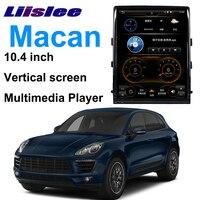 LiisLee Car Multimedia GPS Audio Hi Fi Radio Stereo For Porsche Macan 95B 2014~2018 Original PCM3.1 Style Navigation NAVI