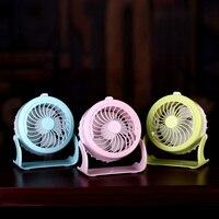 Portable Personal Desktop Water Spray Fan Humidifier Rechargeable USB Mini Cooling Misting Fan Two Wind Speed