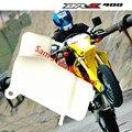 DRZ400 DR-Z400S DRZ400SM Motocicleta Tanque De Agua Del Radiador Depósito de Refrigerante de Refrigeración de Repuesto Bici de La Suciedad