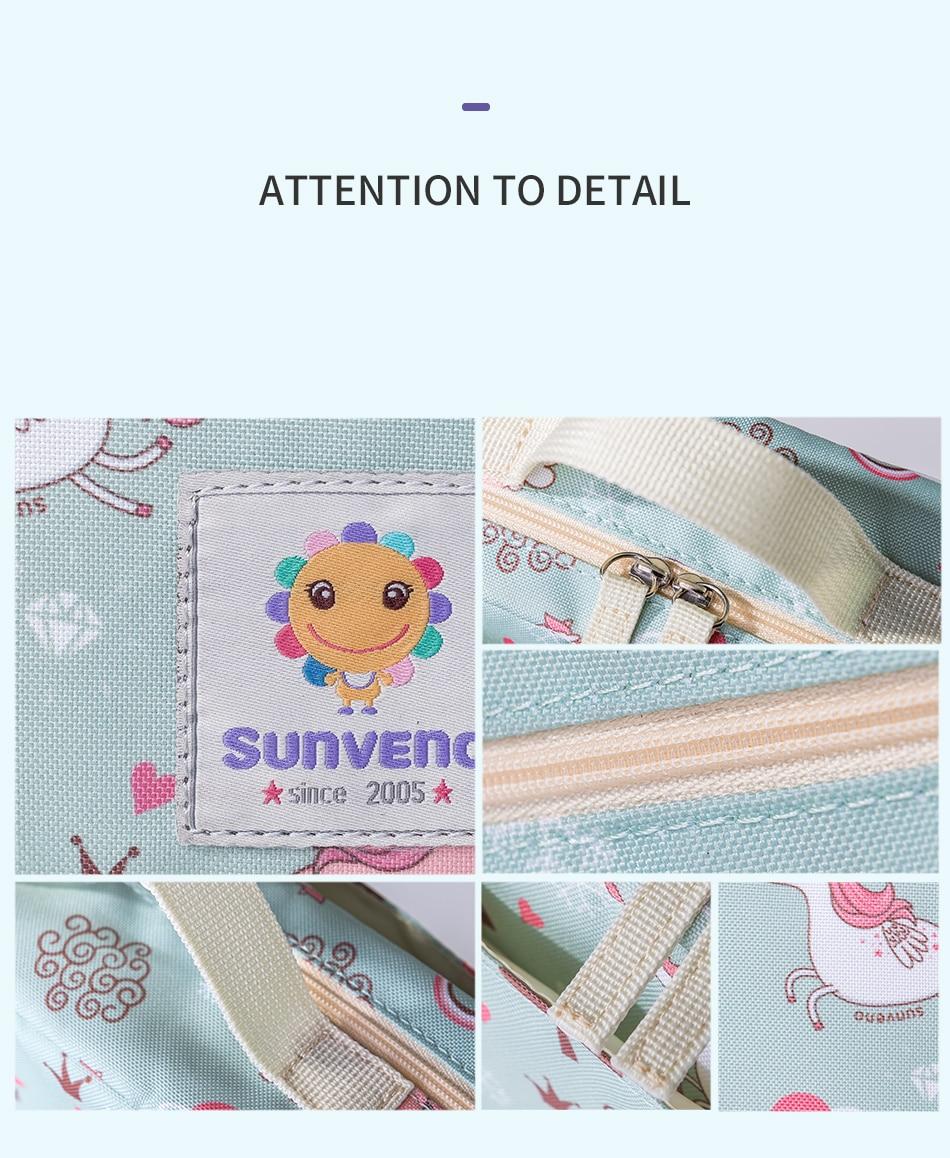 HTB1tSKHRFzqK1RjSZFvq6AB7VXaS Sunveno Baby Diaper Bags Maternity Bag for Disposable Reusable Fashion Prints Wet Dry Diaper Bag Double Handle Wetbags 21*17*7CM