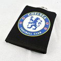 2015 Hot Sale Unisex Sport  Wallet Of Football Style For Students Fashion Casual Black And Blue Lion Logo Letter  Wallet