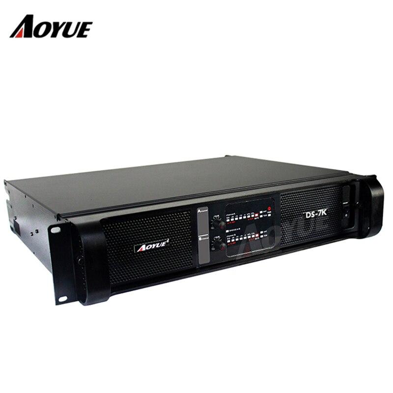 DS-7K 1500W*2CH amplifier professional mosfet power amplifier цена