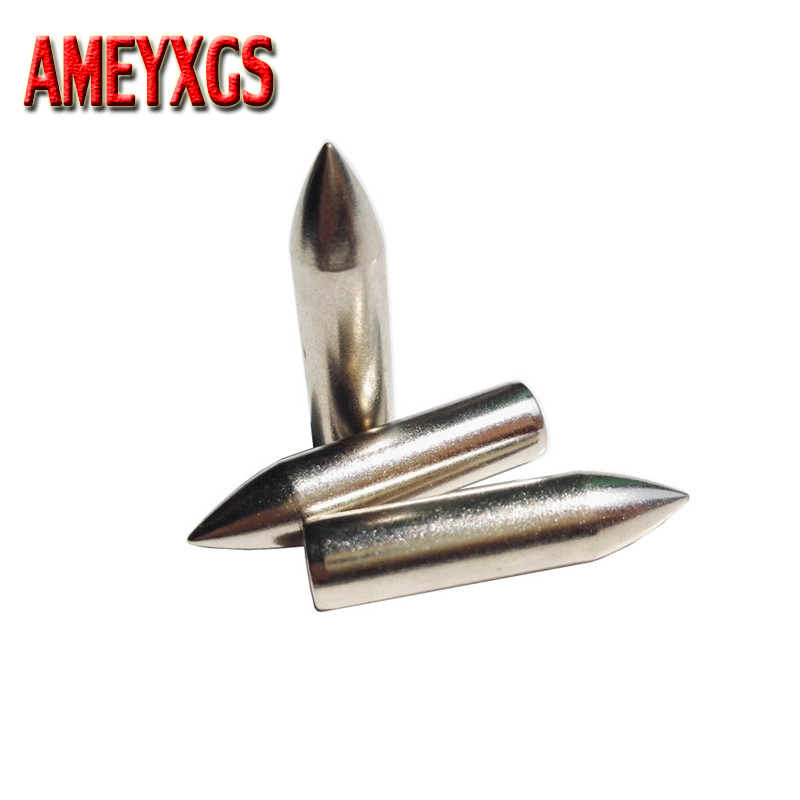 20pcs Archery Broadhead Target Field Tips Crossbow Arrowhead Fit 4mm/4.5mm/5mm/6mm/7mm Arrow Shaft Arrow  Accessory