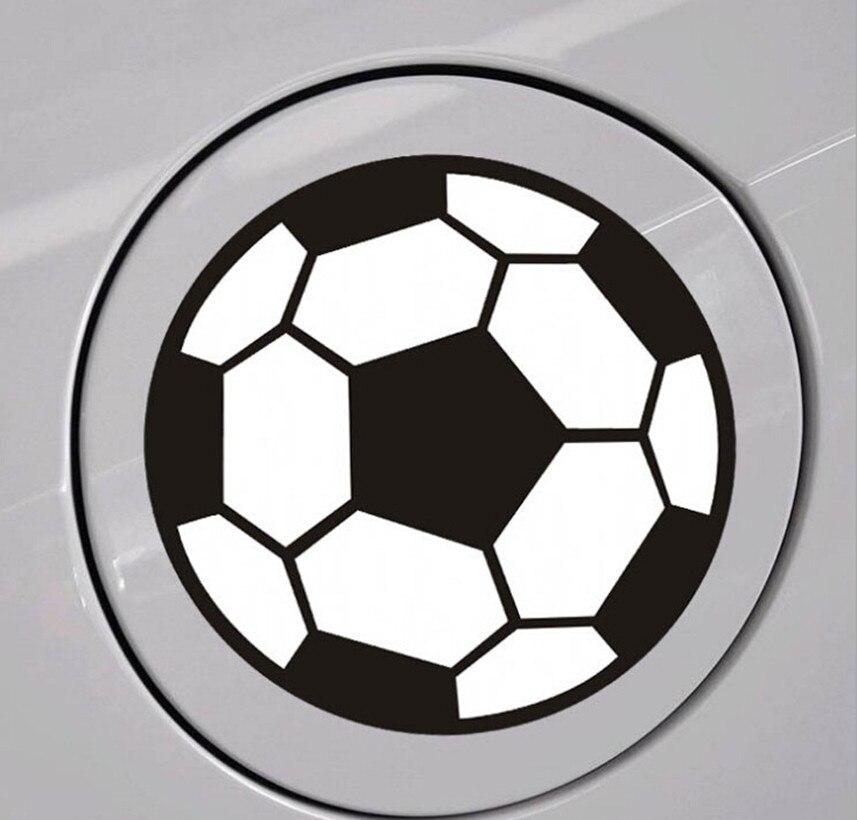 2018 World Cup Auto Football Sticker For Nissan Versa Sunny juke Livina Qashqai Dualis Teana March Tiida Murano Accessories