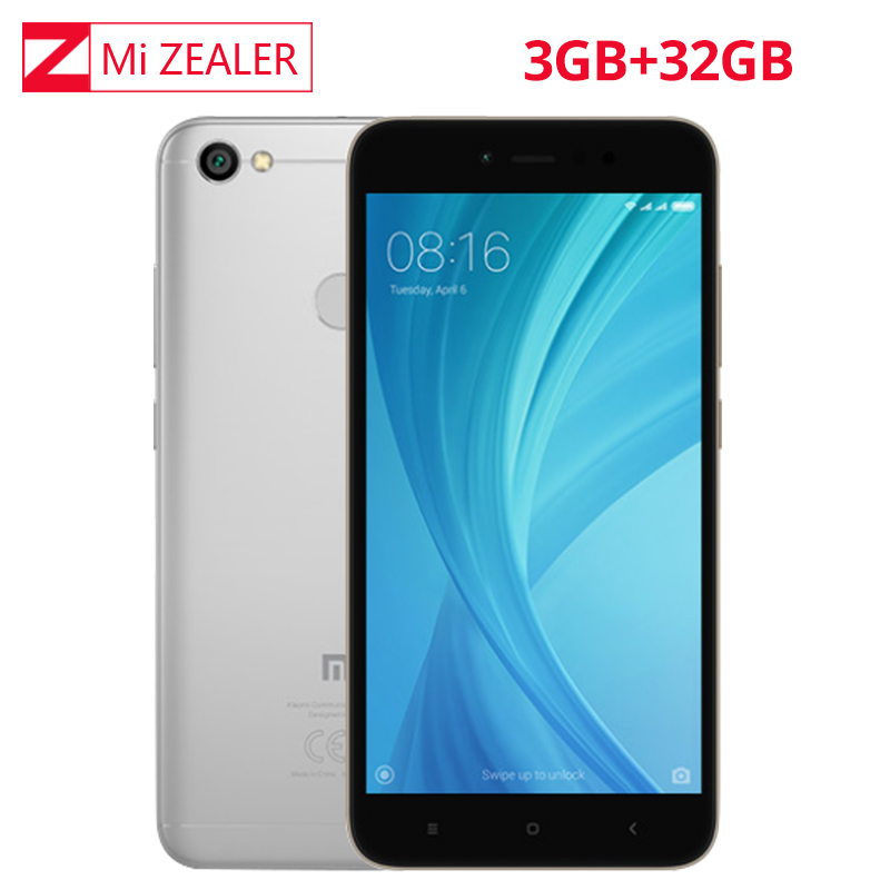 Global ROM Xiaomi Redmi 5A 3GB RAM 32GB ROM Cellphone Snapdragon 435 Octa Core CPU 5.5 Inch Front Camera 16.0MP image
