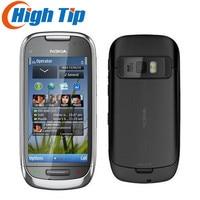 C7 Phone Unlocked Original New GSM 3G 850mhz WIFI GPS 8MP 8GB Cellphone C7 1 Year