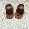 wholesale Summer fashion Soft Baby Moccasins Shoes Girls boys beach Sandals Baby Sandals genuine Leather kids flip flops