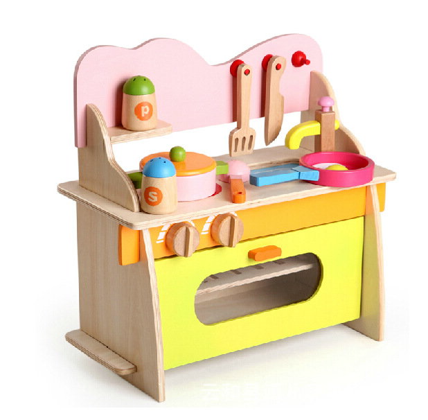 US $42.6 |Artificial Mini children kitchen set baby kitchen toys male girl  Child Multifunction Educational Toys Birthday Gif-in Kitchen Toys from Toys  ...
