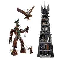 2430Pcs Lepin 16010 Lord Of The Rings The Tower Of Orthanc Model Building Kits Blocks