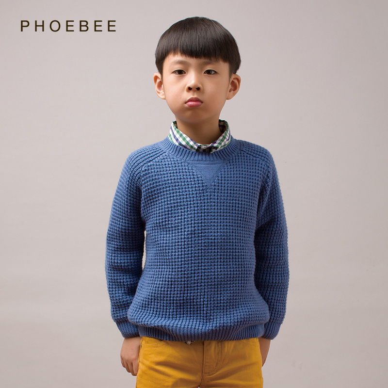 wool boys pullover sweater 2-8 years knitted pullover sweater brand Warm Fashion children kids blue sweater Knitwear long sleeve boys girls winter sweater kids knitted pullover sweater thicken warm kids cardigan sweater double breasted children outwear 2 5t