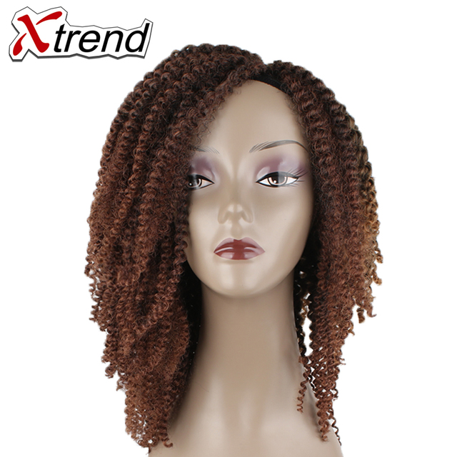 Xtrend 8inch 20rootspiece Synthetic Jamaican Bounce Kinky Curly