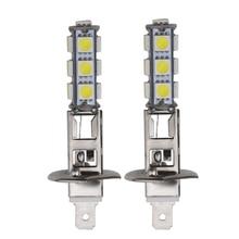 10pcs H1 LED Bulb H3 LED Bulb Car Fog light Bulbs 5050 13smd Auto DRL External