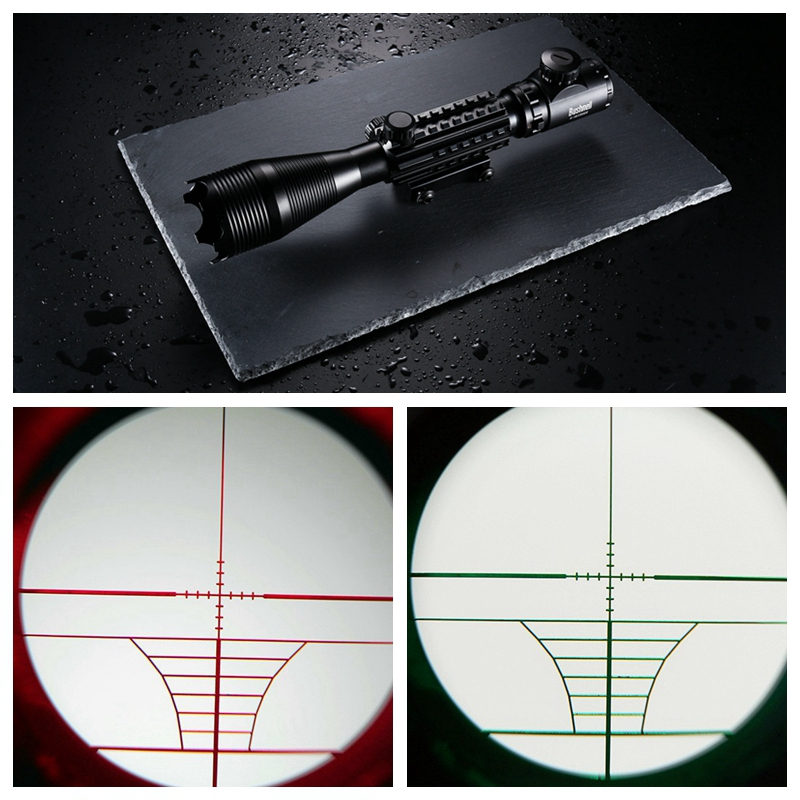 Professional Laser Scope 4-16x50 Red Green Illuminated Reticle Riflescope Sniper Scope with 20MM Rail Mounts for Hunting hot sale 2 5 10x40 riflescope illuminated tactical riflescope with red laser scope hunting scope