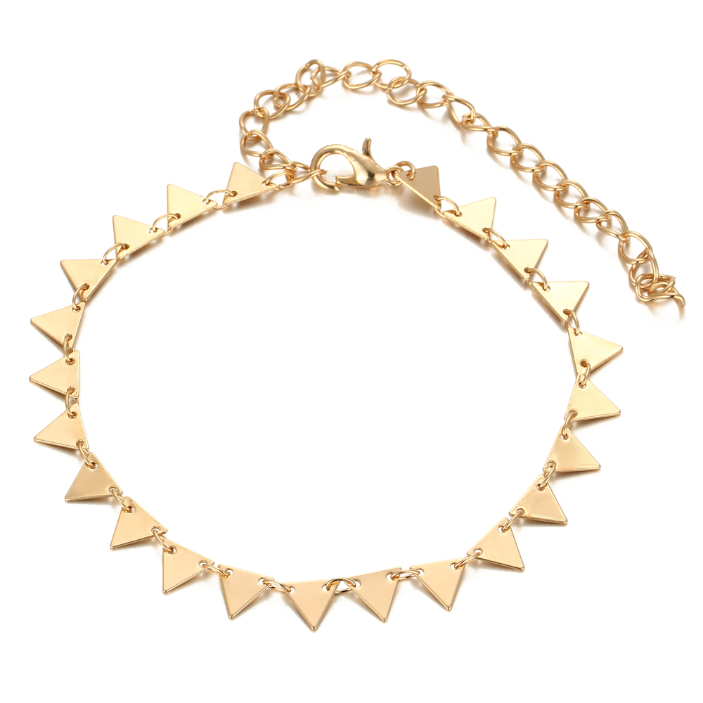 HTB1tSLhQFXXXXaJXFXXq6xXFXXX4 Charming Triangle Geometry Fashion Anklet