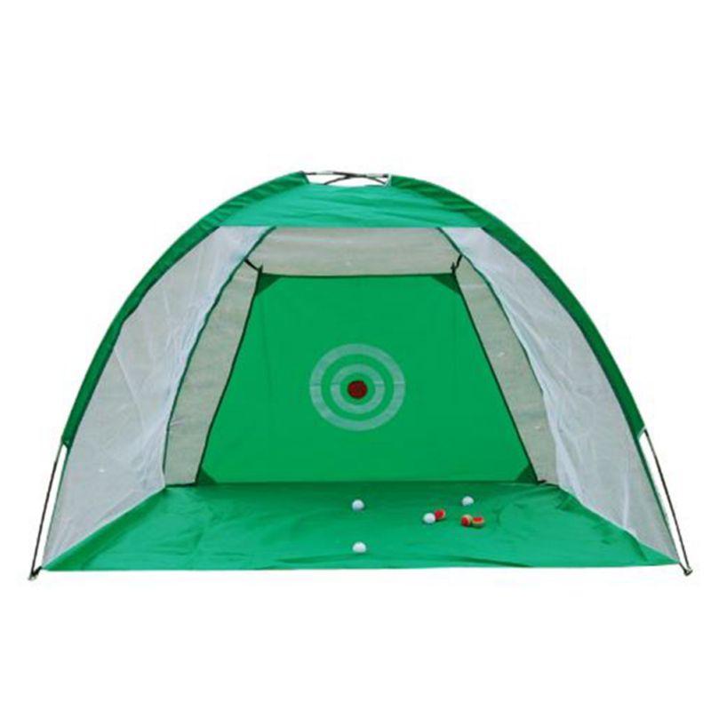 2 m Mini Cage de Golf balançoire formateur Pad ensemble intérieur de Golf pratique filet d'exercice balançoire filet lutte Cage