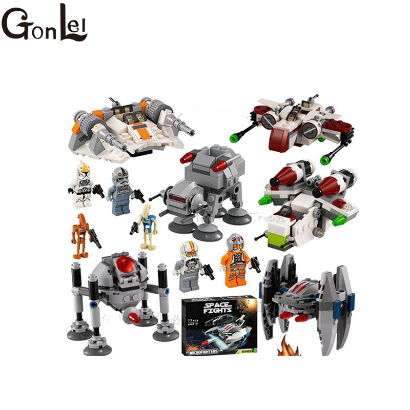 GonLeI Blocks BALE 10359 10360 10361 10362 10363 10364 Building Blocks Model & Building Toys Kids toys Christmas gifts