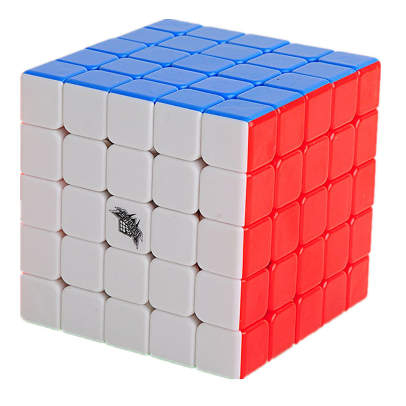 Cyclone Boys professional 63mm 5*5*5 Magic Cube Puzzle Toy Magic Cube Toys For Children Kids Educational Gift Toy
