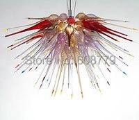 Freies Verschiffen Neue Blume Geblasen Glas Unterputz Decken Licht-in Kronleuchter aus Licht & Beleuchtung bei