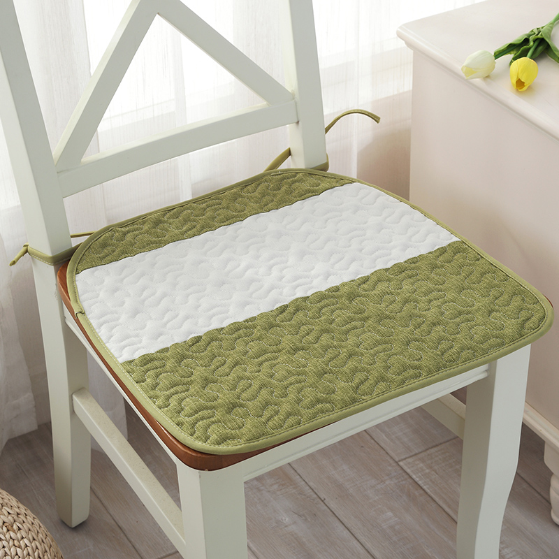 Quality Summer Autumn Striped Kitchen Chair Cushions With Rope Soft Home Decor Seat Cushion Mat Pad